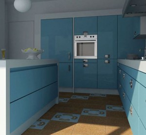 kitchen tile flooring ideas picture from Fogazza have fun and fresh