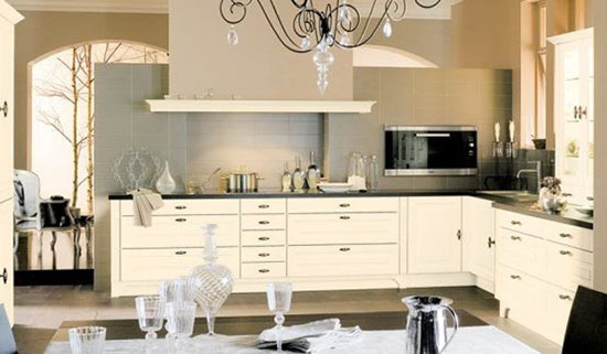 kitchens color combinations scheme of decoration by Mobalpa