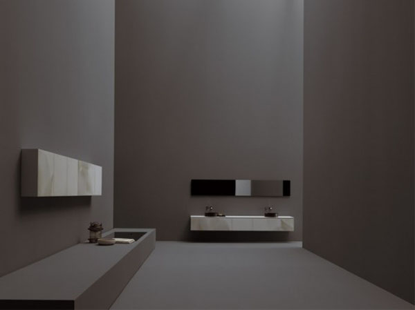 kitchens combination of modern technology and works of art creating floral motif