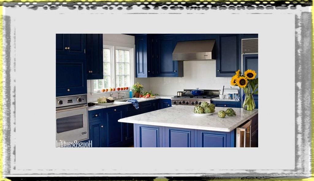 midnight blue kitchen island fee kitchen ideas colors