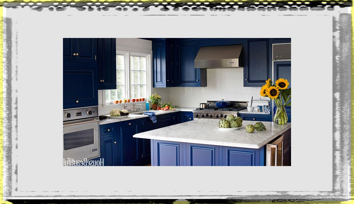 midnight blue kitchen island fee kitchen ideas colors
