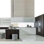 minimalist clean aesthetics kitchen design photos with flex wall cabinets