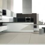 minimalist clean aesthetics kitchen design with flex wall cabinets