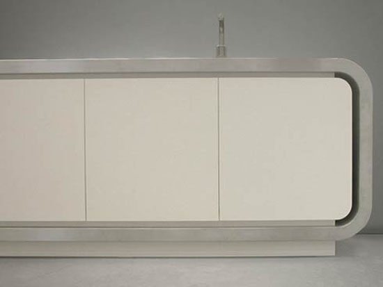 minimalist kitchens cabinets design Flex 1 modern Italian kitchen from Strato