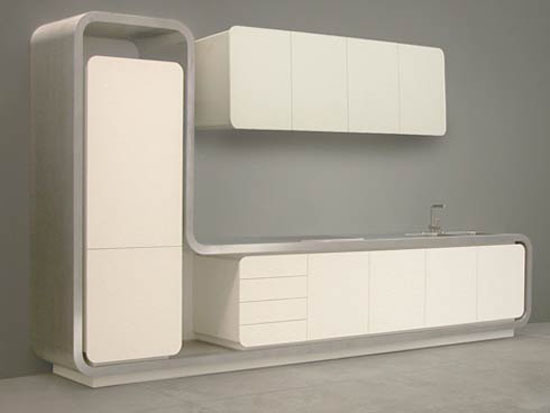 minimalist style design kitchen picture of Flex 1 from Strato in simple color