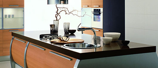 modern European style kitchen from Aster Cucine innovative new trend kitchen