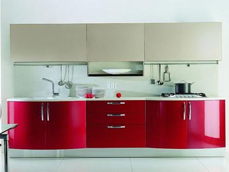 modern cosmopolitan kitchen is simple