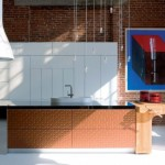 modern kitchen aesthetic design and maximum comfort cooking meals