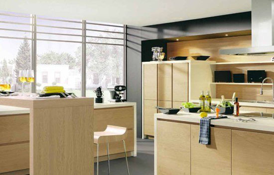 modern kitchen and luxurious great diversity in color style and arrangement by Alno kitchens