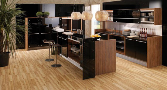 modern kitchen design with natural wood elements by Vitrea Braal