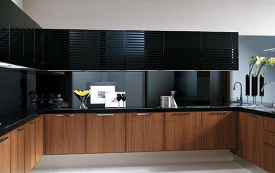 modern kitchen tone of bold cosmopolitan style sense of slightly retro sophistication