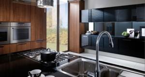 modern kitchen tone of bold cosmopolitan style sense of slightly retros sophistication