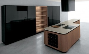 modern kitchen use stainless steel and melamine add shine and modern contemporary feel