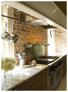 modern kitchen with brick backsplash image modern brick kitchen backsplash design modern kitchen backsplash