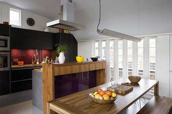 modern kitchen with islands has functional cutting edge ways