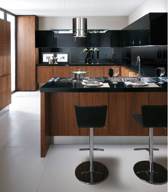 modern kitchens tones of bold cosmopolitan style sense of slightly retro sophistication