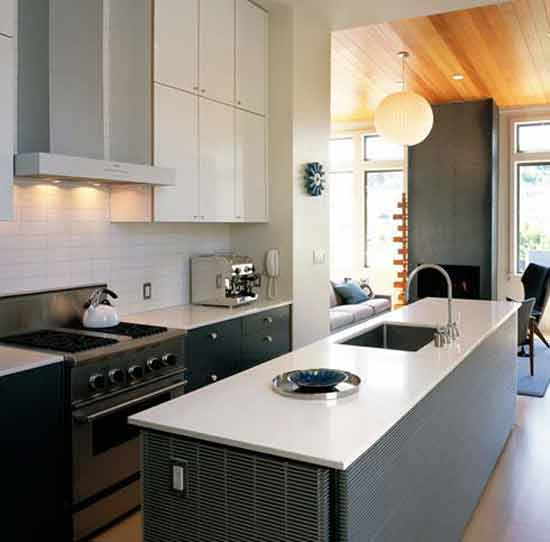 Modern remodeling kitchen design with elegance combination