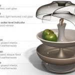 moderns countertop to keep foods and vegetables fresh