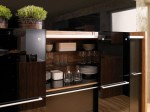 moderns kitchen design with natural wood elements by Vitrea Braal