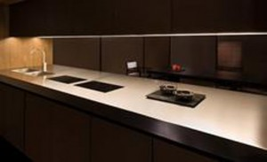 natural evolution of Bridge kitchen by Armani help you decorates your home