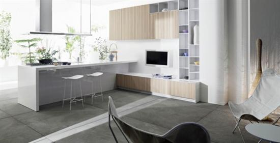 natural expressive colour elegance kitchen CODE by Snaidero