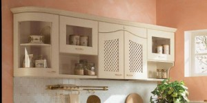 natural wood classics kitchens in glossy lacquered version by Arrital Cucine