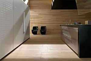 new Artematica Multiline Titanium Kitchens by Valcucine with the light reflecting panels