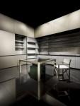 new kitchens designs satin finish minimalist futuristic from Armani Casa