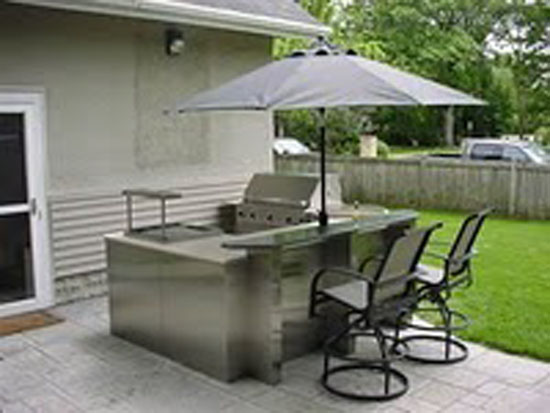 outdoor kitchen design ideas with shelter in your garden
