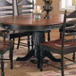 Oval dining table in classic