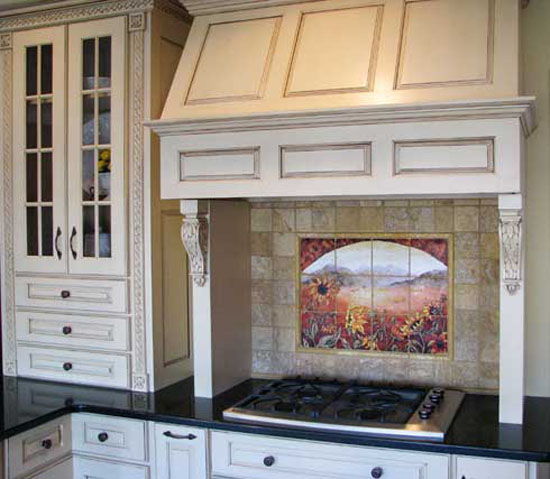 pictures of kitchen backsplash ideas for restaurants by Linda Paul Studio