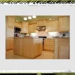 plain kitchen ideas maple