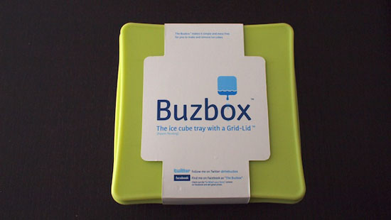 plastic ice cube trays Buzbox review is very simple idea