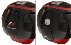 racepresso coffee machine in helmet shape