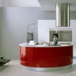 red round kitchen island picture ideas