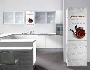 redecorating your kitchens with unique and artistic silk screen