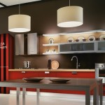renovate kitchens with Colorful artistic wallpaper design for modern house