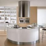 round countertop kitchens by Pedini