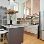 shiny stainless steel for modern kitchen