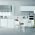 simple and clean white kitchens