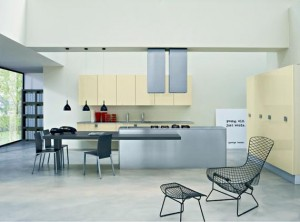 Simple Contemporary Kitchen and dining design ideas