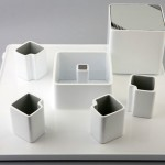 simple drinking glasses sets with four mugs and electric kettle