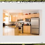 simple woody kitchen ideas maple