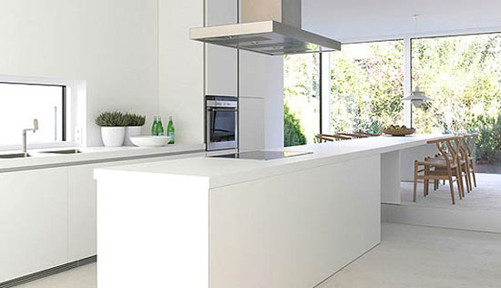 simplicity white kitchen design ideas is Bulthaup B1 kitchen