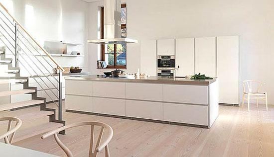 simplicity white kitchens design idea is Bulthaup B1 kitchen