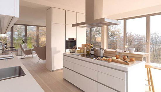 simplicity white kitchens design idea is Bulthaup B1 kitchens