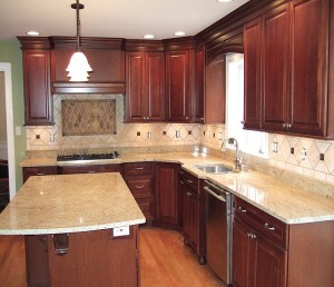 small kitchen design planning by selecting light colour scheme Layout