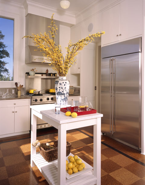 Small kitchen island designs design a room for Small kitchen designs with island