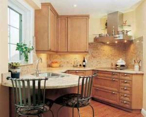 Small Kitchen Makeover and beautiful kitchen design corner