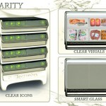 smart fridges in small shape for better food storage by Chow Pei Huan
